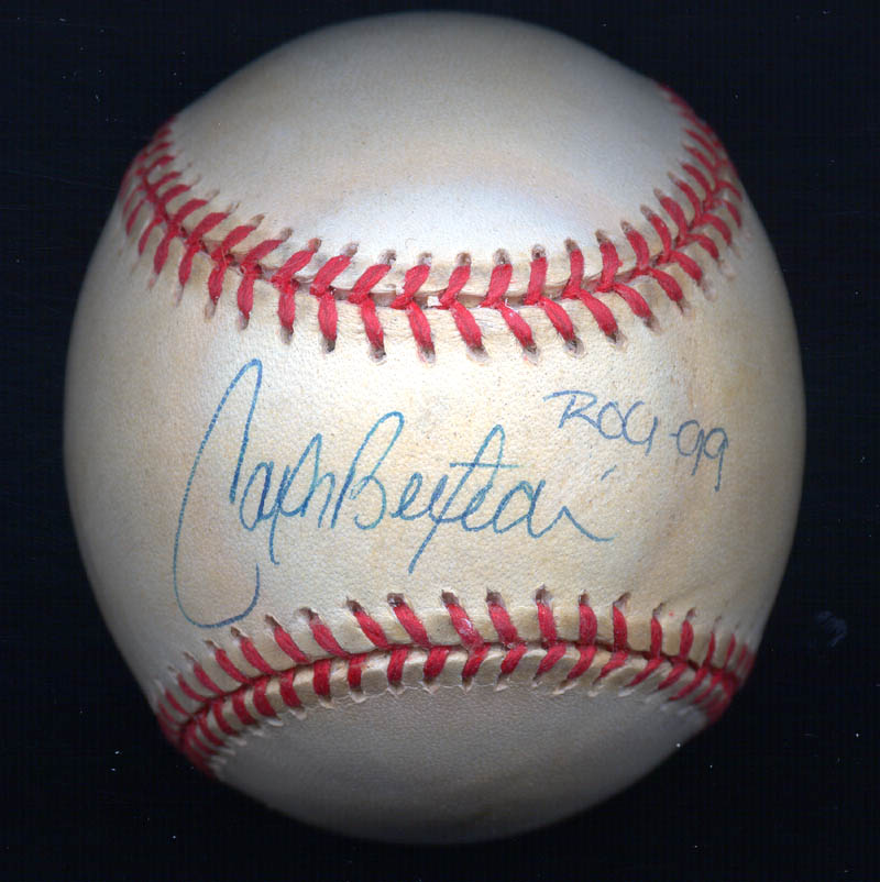 Carlos Beltran Baseball Signed Autographs Manuscripts
