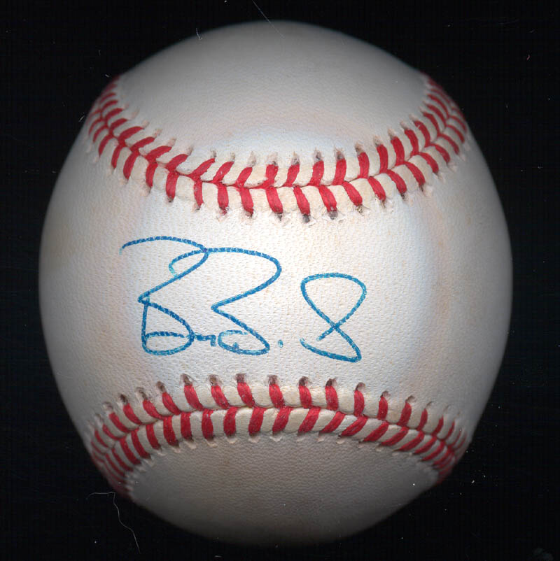 Image 1 for Barry L. Bonds - Autographed Signed Baseball - HFSID 269997