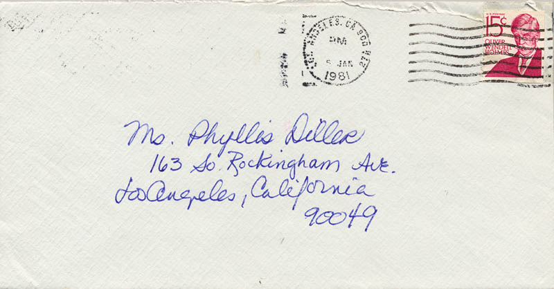 Image 3 for Lucie Arnaz - Autograph Letter Signed 01/04/1981 - HFSID 270122