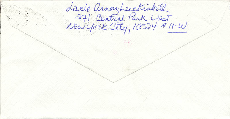 Image 4 for Lucie Arnaz - Autograph Letter Signed 01/04/1981 - HFSID 270122