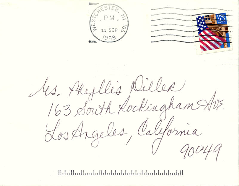 Image 4 for Lucie Arnaz - Autograph Letter Signed 09/10/1998 - HFSID 270123