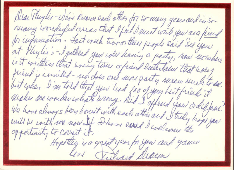 Image 1 for Richard Deacon - Autograph Letter Signed Circa 1/1984 - HFSID 270639