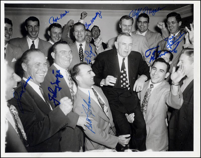 Image 1 for The New York Yankees - Autographed Signed Photograph with co-signers - HFSID 270779