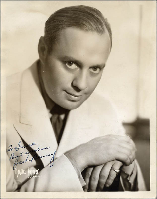 Image 1 for Jack Benny - Autographed Inscribed Photograph - HFSID 270867