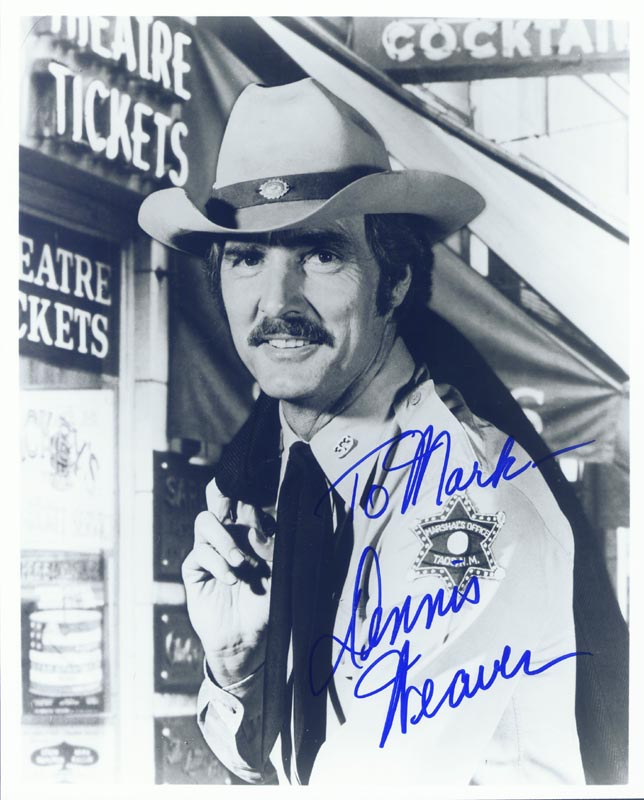 Image 1 for Dennis Weaver - Autographed Signed Photograph - HFSID 2709