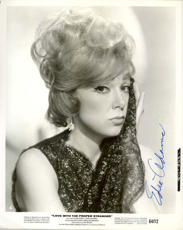 Image 1 for Edie Adams - Autographed Signed Photograph - HFSID 270933