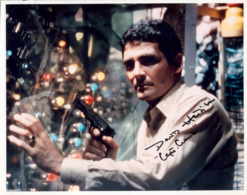 Image 1 for David Hedison - Autographed Signed Photograph - HFSID 270939