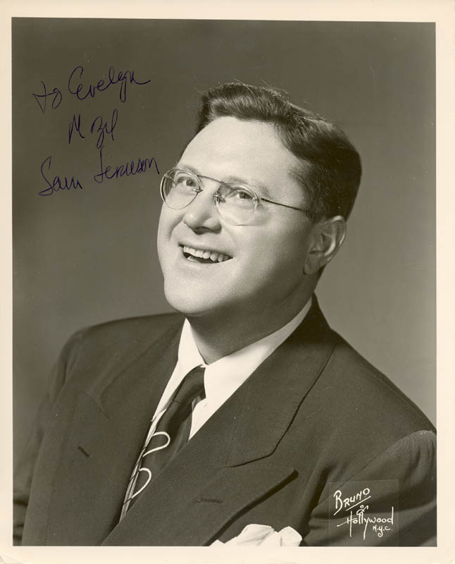 Image 1 for Sam Levenson - Autographed Inscribed Photograph - HFSID 270940