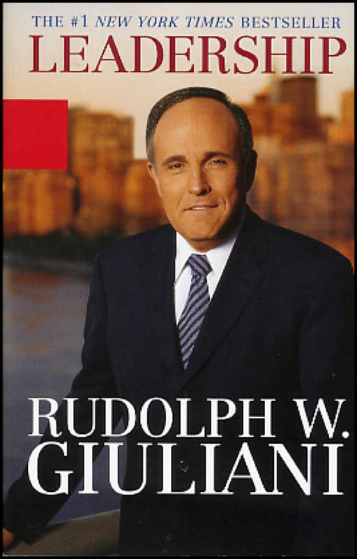 Image 3 for Mayor Rudolph 'Rudy' Giuliani - Book Signed - HFSID 271079