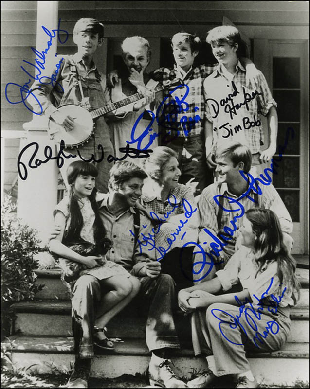 Image 1 for The Waltons TV Cast - Autographed Signed Photograph with co-signers - HFSID 271207