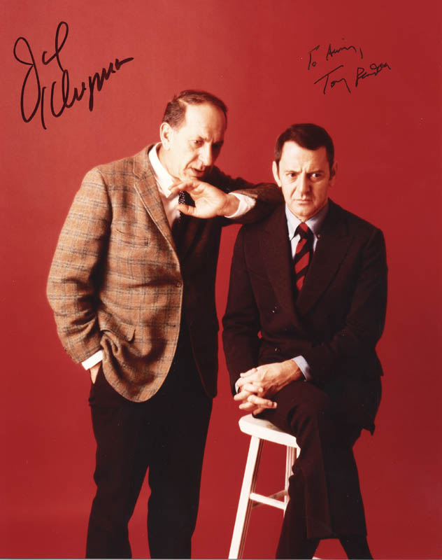 Image 1 for The Odd Couple TV Cast - Autographed Signed Photograph co-signed by: Jack Klugman, Tony Randall - HFSID 271259