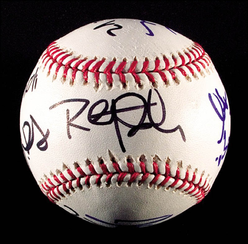 Image 5 for The Sopranos TV Cast - Autographed Signed Baseball with co-signers - HFSID 271281