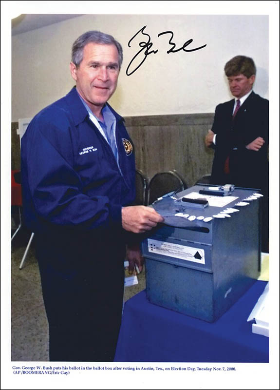 Image 1 for President George W. Bush - Autographed Signed Photograph - HFSID 271439