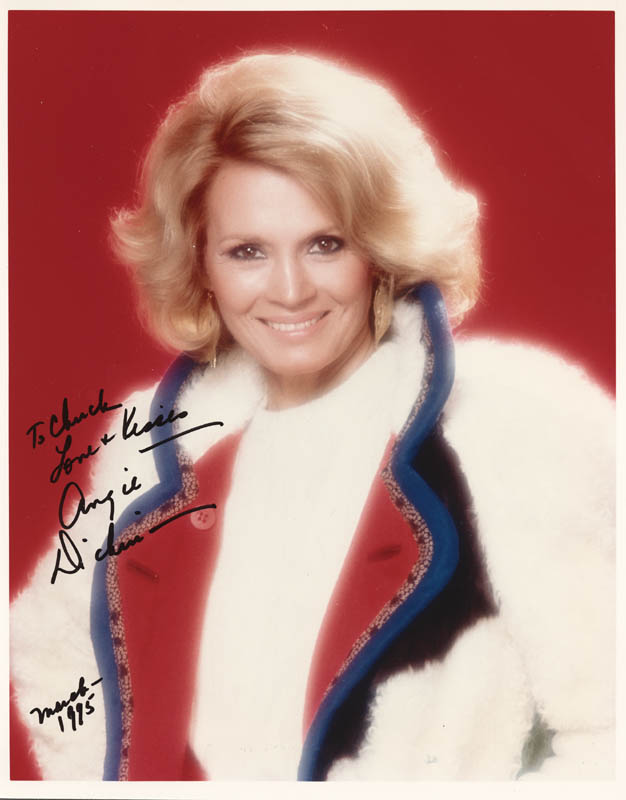 Image 1 for Angie Dickinson - Autographed Inscribed Photograph 03/1995 - HFSID 271506
