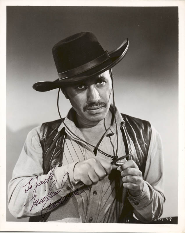 Image 1 for Michael Ansara - Autographed Inscribed Photograph - HFSID 271563
