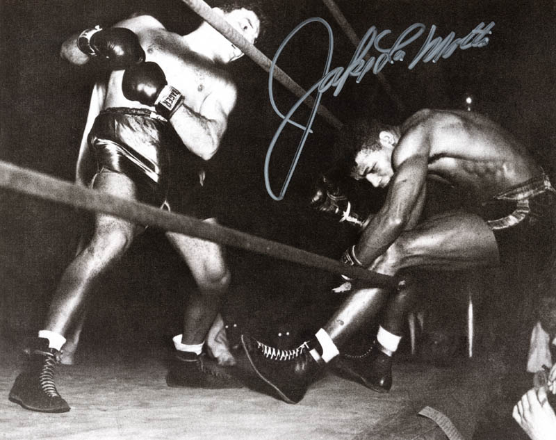 Image 1 for Jake 'The Raging Bull' La Motta - Autographed Signed Photograph - HFSID 271582