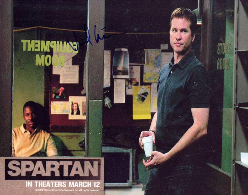 Image 1 for Val Kilmer - Autographed Signed Photograph - HFSID 271606