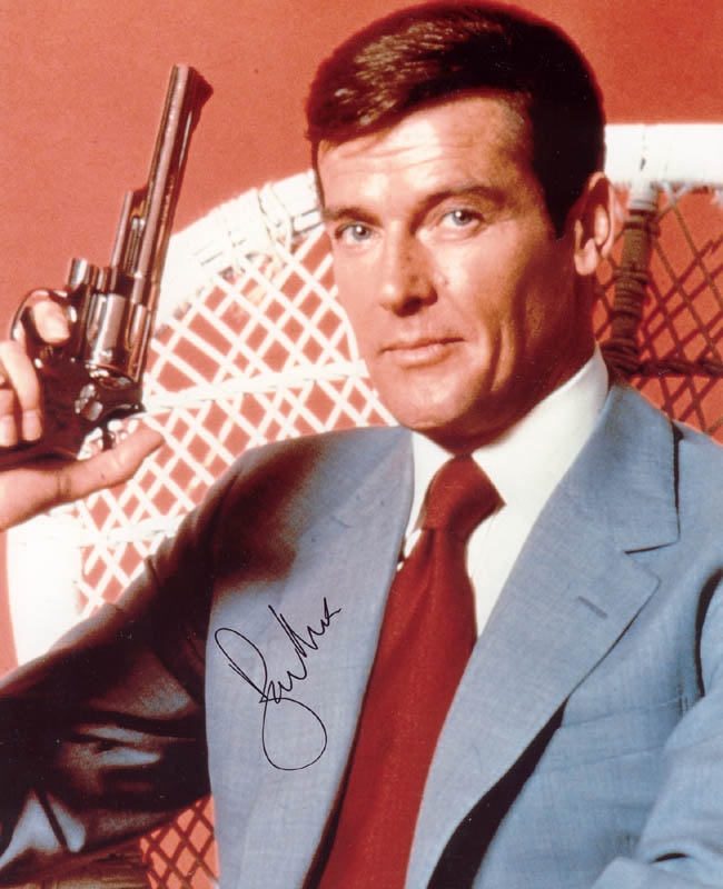 Image 1 for Roger Moore - Autographed Signed Photograph - HFSID 272070