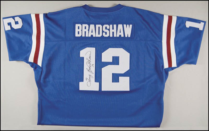 sports shoes c88b5 02dc6 Terry Bradshaw - Jersey Signed   HistoryForSale Item 272086
