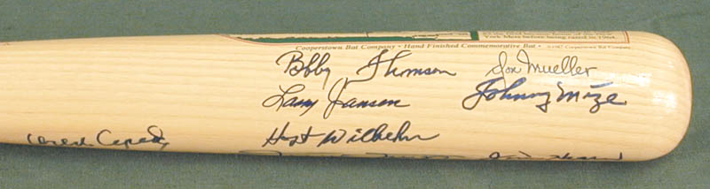 Image 4 for The San Francisco Giants - Baseball Bat Signed with co-signers - HFSID 272091