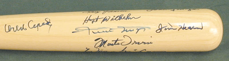 Image 5 for The San Francisco Giants - Baseball Bat Signed with co-signers - HFSID 272091