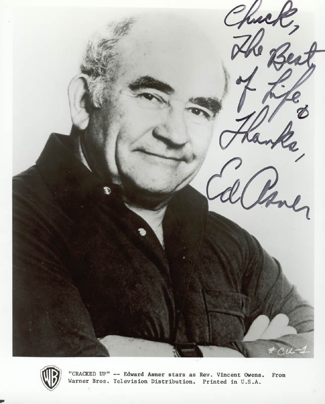 Image 1 for Ed Asner - Autographed Inscribed Photograph - HFSID 272100