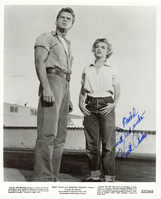 Image 1 for Keith Andes - Autographed Inscribed Photograph - HFSID 272172