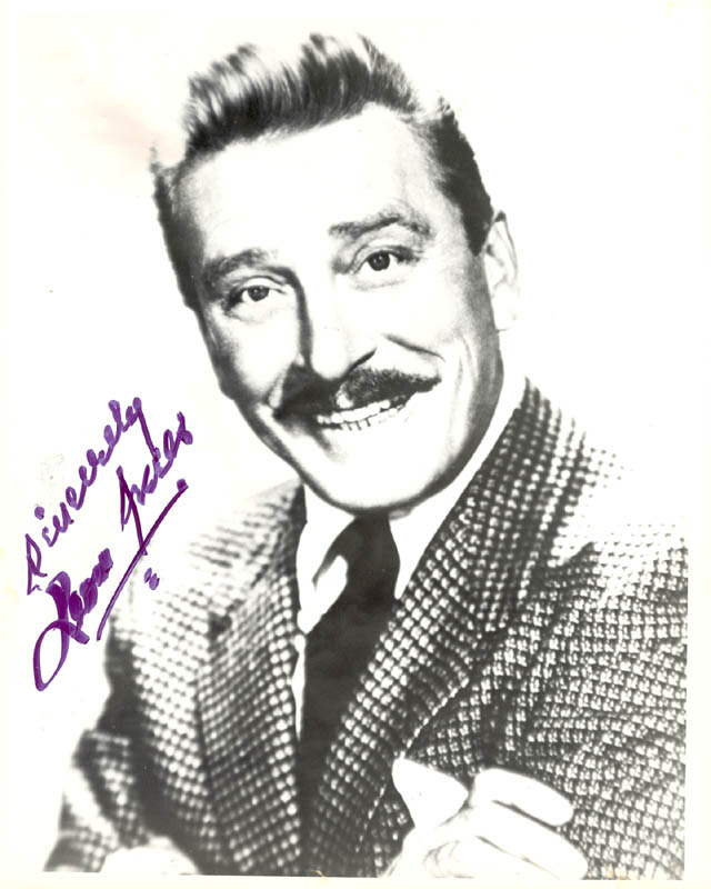 Image 1 for Leon Ames - Autographed Signed Photograph - HFSID 272183