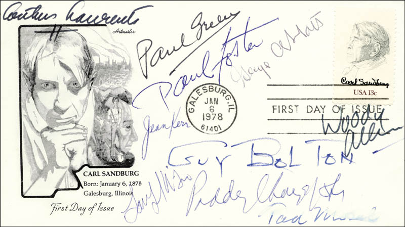Image 1 for George F. Abbott - First Day Cover Signed with co-signers - HFSID 27234