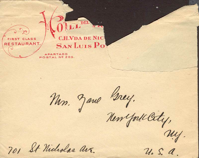 Image 3 for Zane Grey - Autograph Letter Signed 02/17 - HFSID 272573