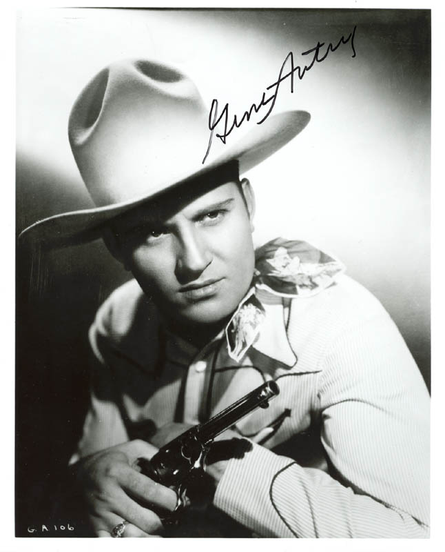 Image 1 for Gene Autry - Autographed Signed Photograph - HFSID 272617