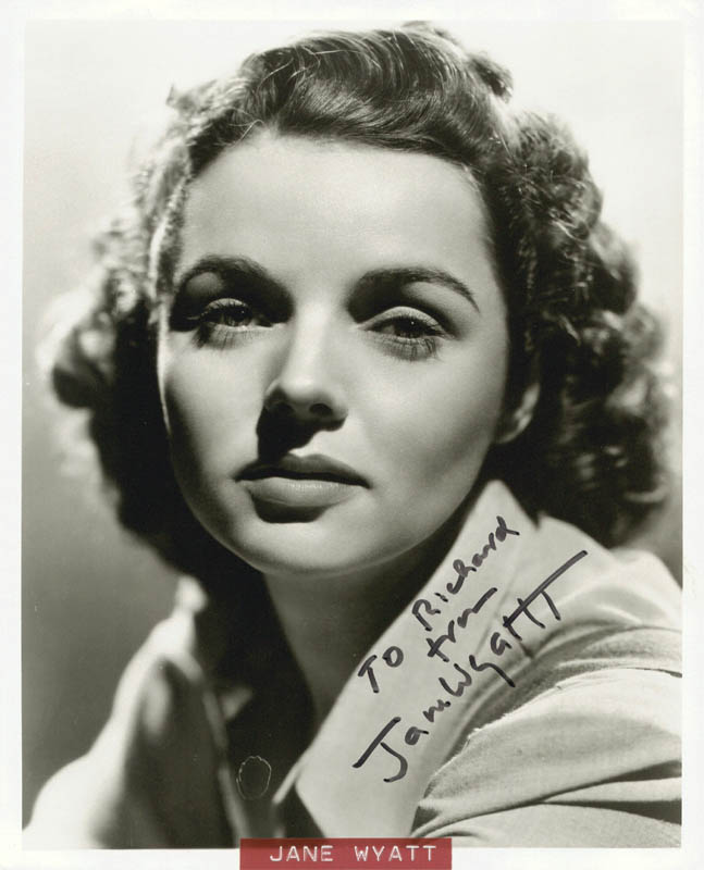 Image 1 for Jane Wyatt - Autographed Inscribed Photograph - HFSID 272719
