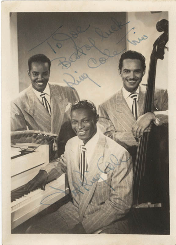Image 1 for Nat King Cole - Autographed Inscribed Photograph - HFSID 272726
