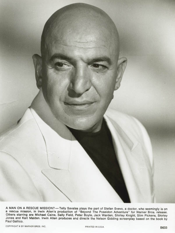 Image 4 for Telly Savalas - Autographed Signed Check 02/07/1965 co-signed by: Christina Savalas - HFSID 272744