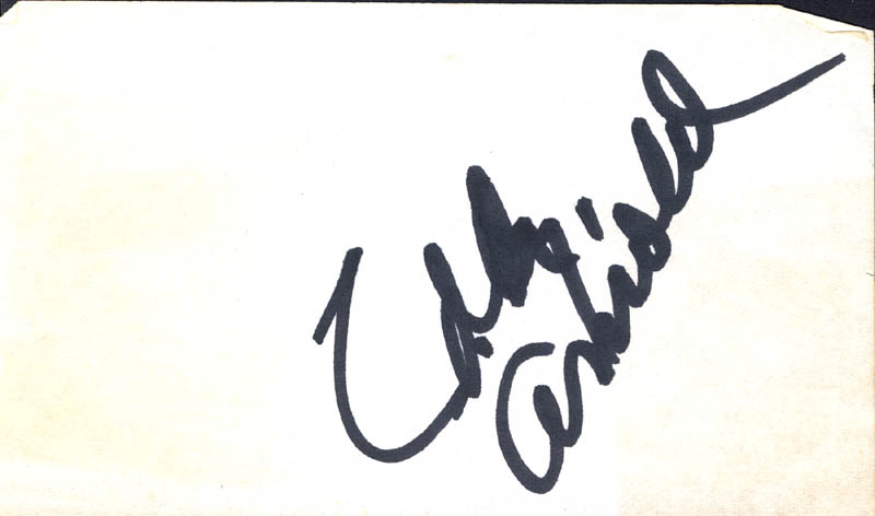 Image 1 for Eddy Arnold - Autograph - HFSID 272814