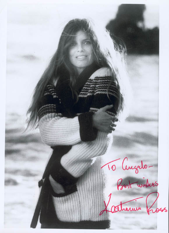 Image 1 for Katharine Ross - Autographed Inscribed Photograph - HFSID 272868