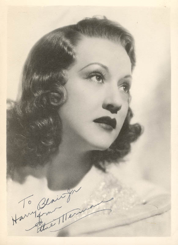 Image 1 for Ethel Merman - Autographed Inscribed Photograph - HFSID 272917