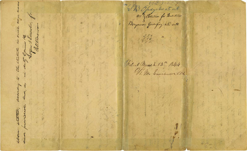 Image 5 for President Abraham Lincoln - Autograph Document Signed Circa 1844 - HFSID 273133