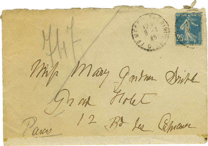 Image 4 for Mary Cassatt - Autograph Letter Signed - HFSID 273140