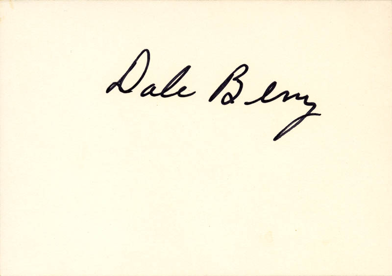 Image 1 for Dale Berry - Autographed Signed Photograph - HFSID 273230