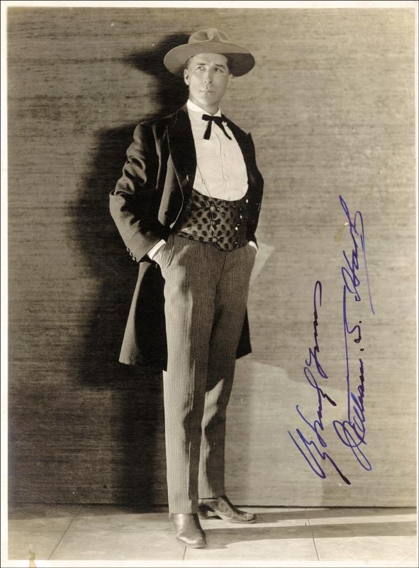 Image 1 for William S. Hart - Autographed Signed Photograph - HFSID 27353