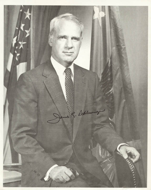 Image 1 for James R. Schlesinger - Autographed Signed Photograph - HFSID 273593