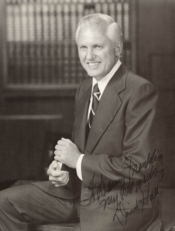 Image 1 for David Hall - Autographed Inscribed Photograph - HFSID 273610