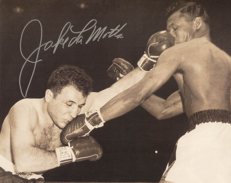 Image 1 for Jake 'The Raging Bull' La Motta - Autographed Signed Photograph - HFSID 274034