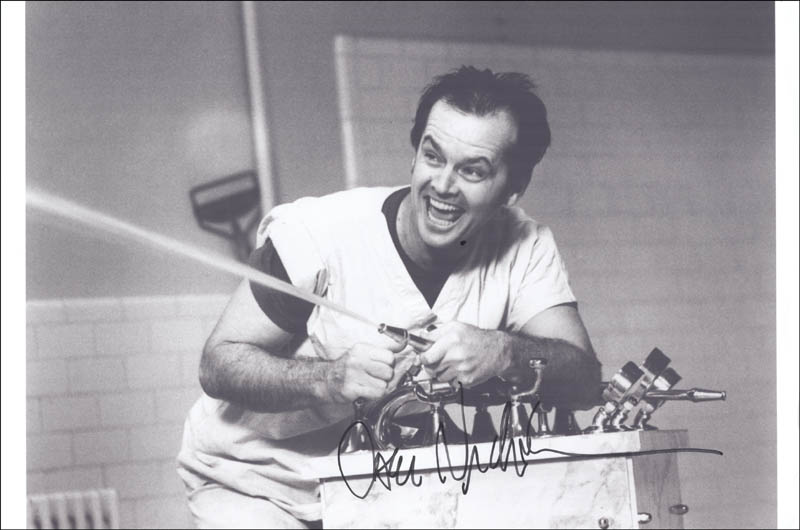 Image 1 for Jack Nicholson - Autographed Signed Photograph - HFSID 274038