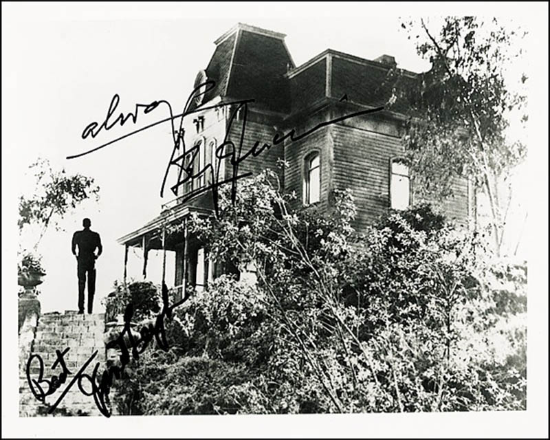 Image 1 for Psycho! Movie Cast - Autographed Signed Photograph co-signed by: Janet Leigh, Anthony Perkins - HFSID 274144