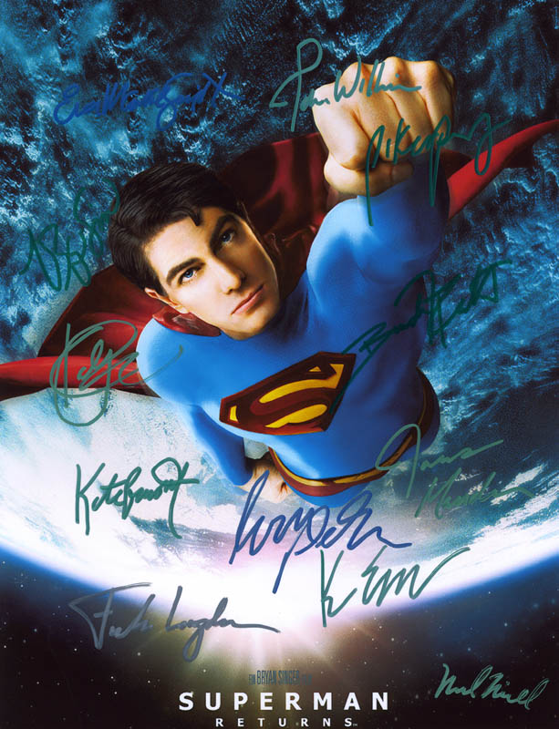 Image 1 for Superman Returns Movie Cast - Autographed Signed Photograph with co-signers - HFSID 274173