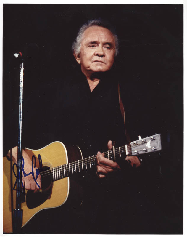 Image 1 for Johnny Cash - Autographed Signed Photograph - HFSID 274210