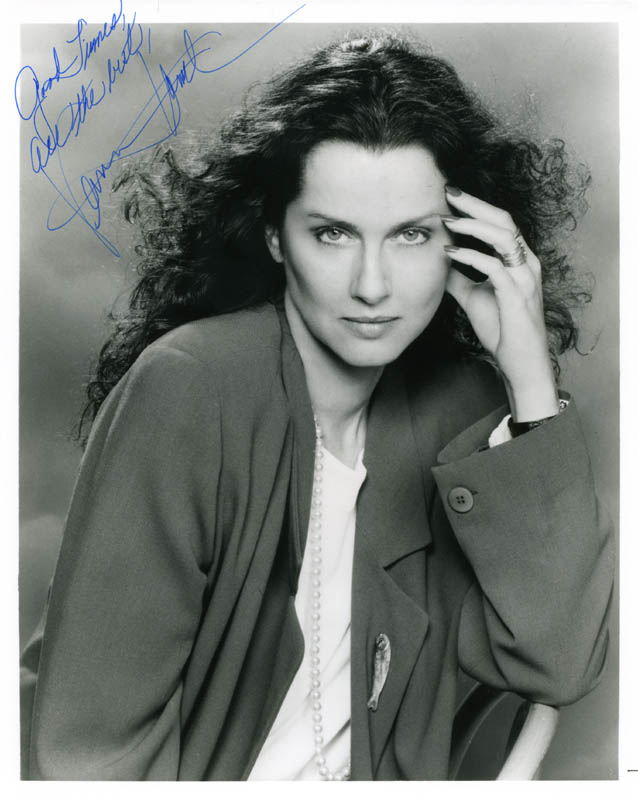 Image 1 for Veronica Hamel - Autographed Signed Photograph - HFSID 274263