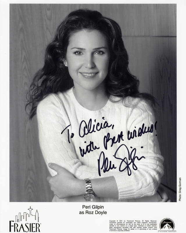Image 1 for Peri Gilpin - Autographed Inscribed Photograph - HFSID 274273